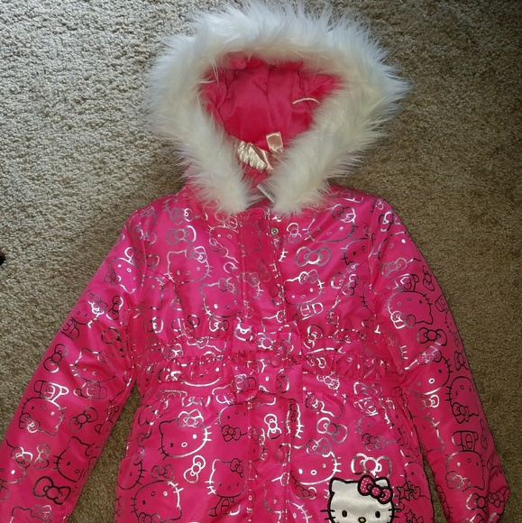 26da0c1e2 Hello Kitty Jackets & Coats | Girls Puffer Jacket Size 56 | Poshmark